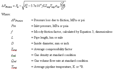 friction factor equation. equation friction factor i