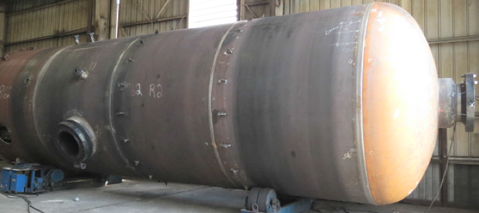 Figure 3. An example of a vertical drum made of SA-516-70